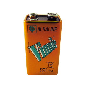 Vinnic Alkaline 9V Battery 1