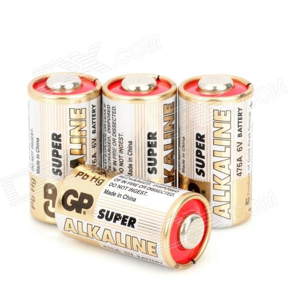Gp 476a 6v 4lr44 150mah Alkaline Batteries