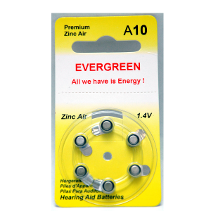 A10 Hearing Aid Battery